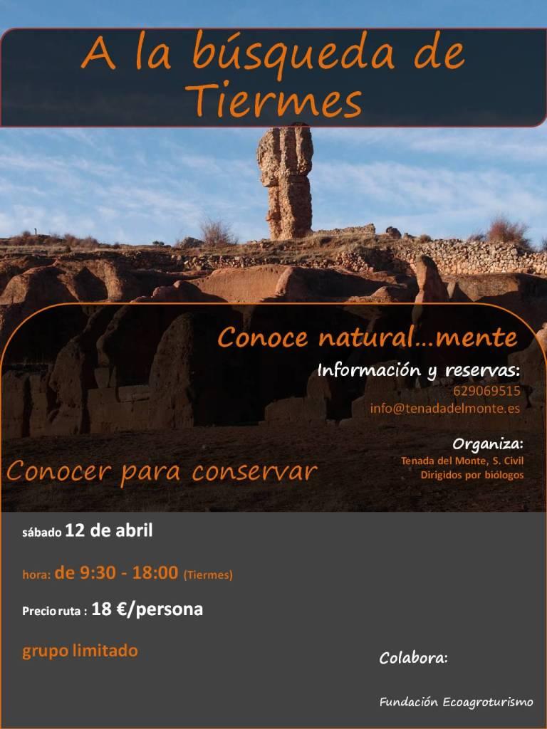 cartel Tiermes