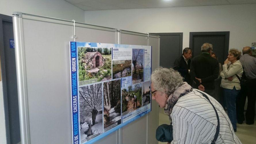 Exposición en Torrecaballeros